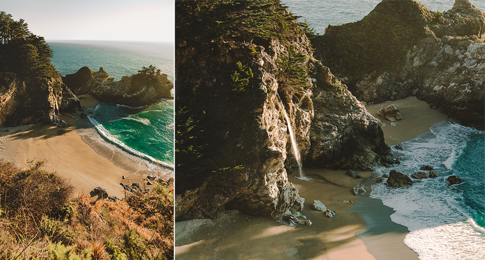McWay Falls, Big Sur during late afternoon light