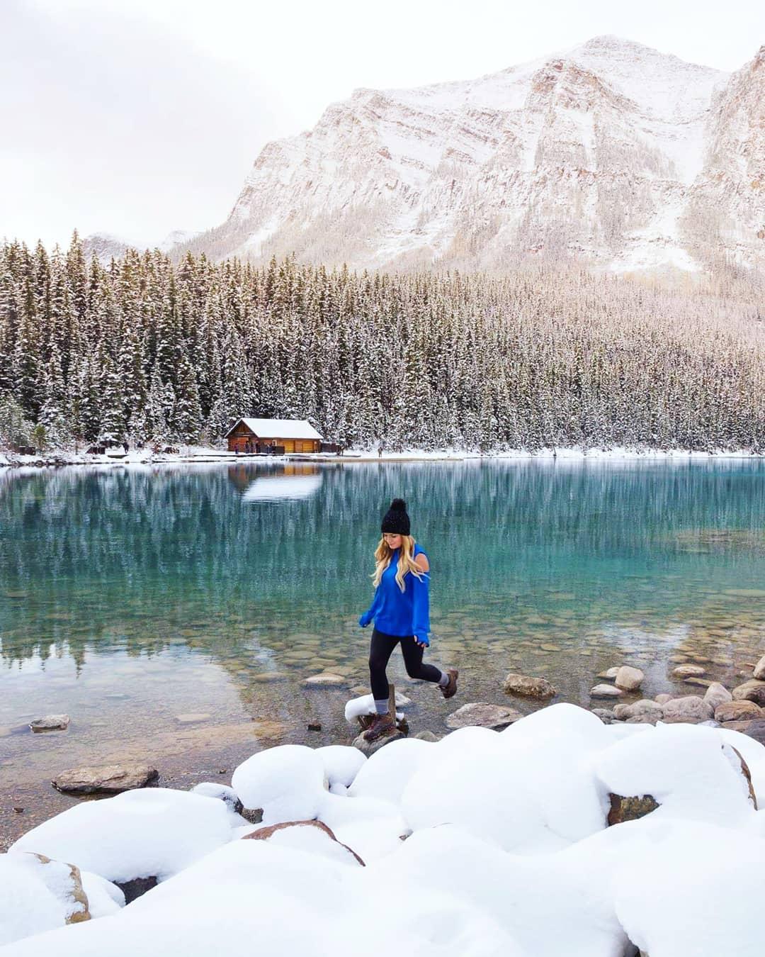 Jenn Explores Lake Louise Banff Alberta Canada