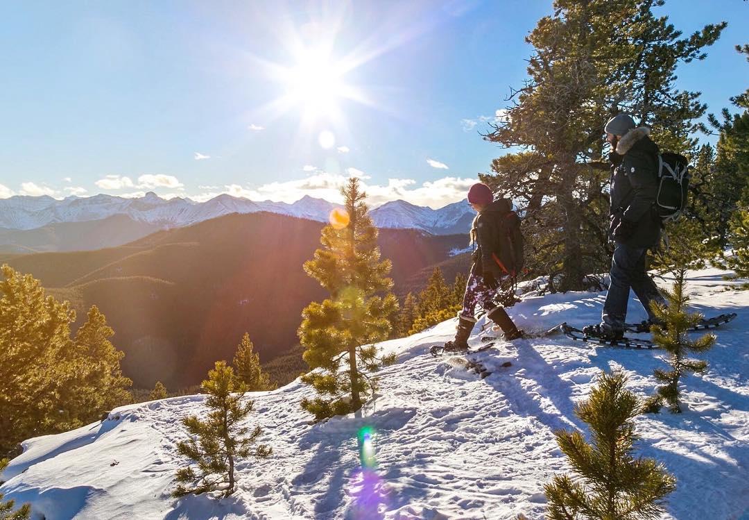 Winter Hiking in Banff