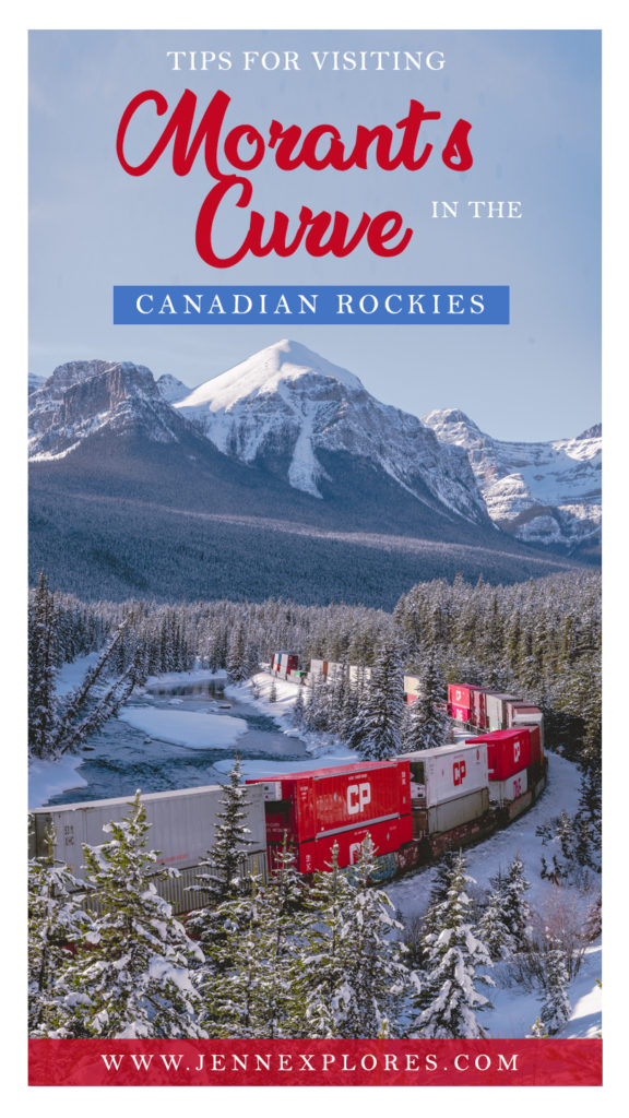 Tips for visiting Morants Curve in the Canadian Rockies