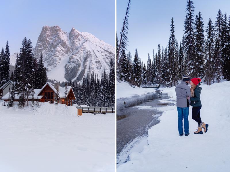 Stunning views at Emerald Lake Lodge