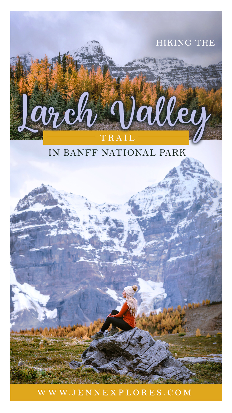 Larch Valley hike, Banff National Park